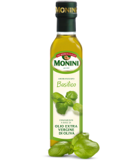 Оливковое масло Monini Basilic olio extra vergine di oliva 0,250л
