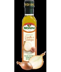 Оливковое масло Monini Cipolla e Scalogno olio extra vergine di oliva 0,250л