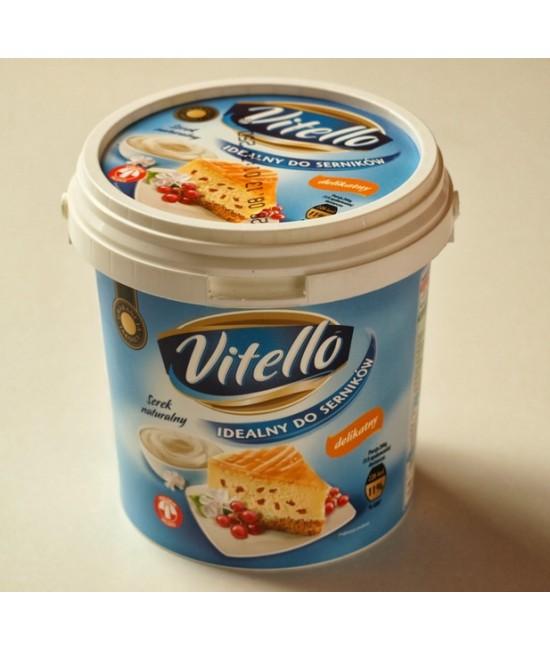Творог натуральный к сырнику 7,5% VITELLO 1кг